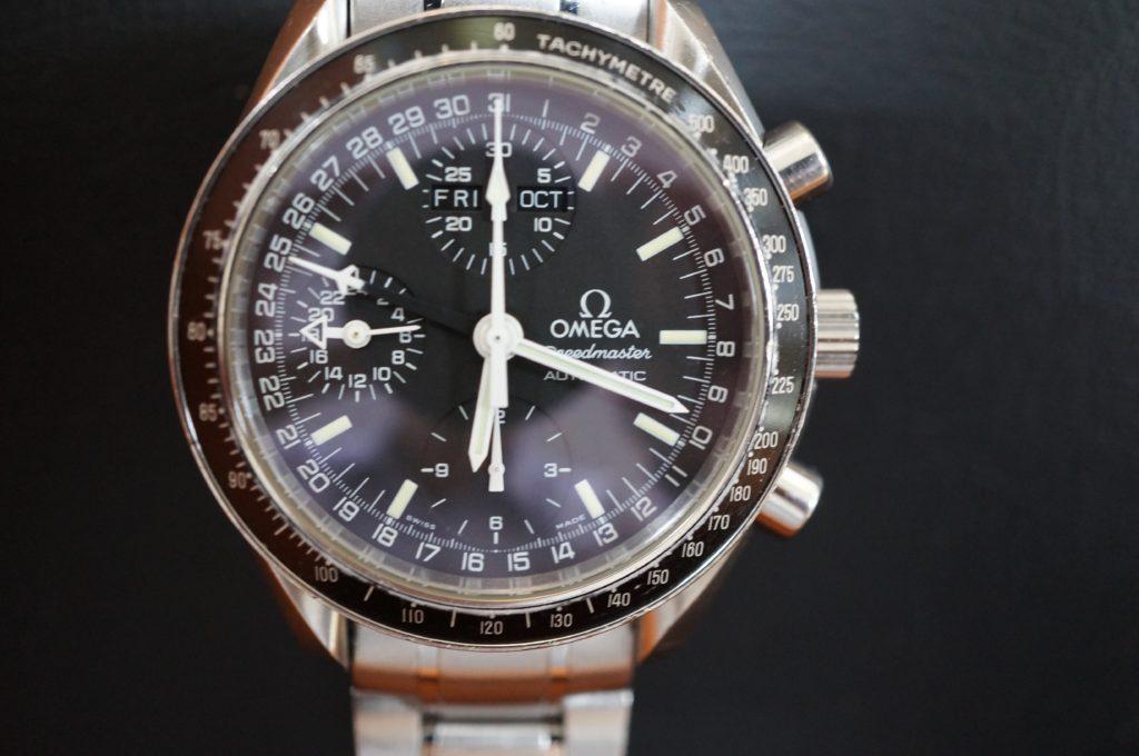 No.1847  OMEGA Speedmaster (オメガスピードマスター) 手巻き式 腕時計を修理しました