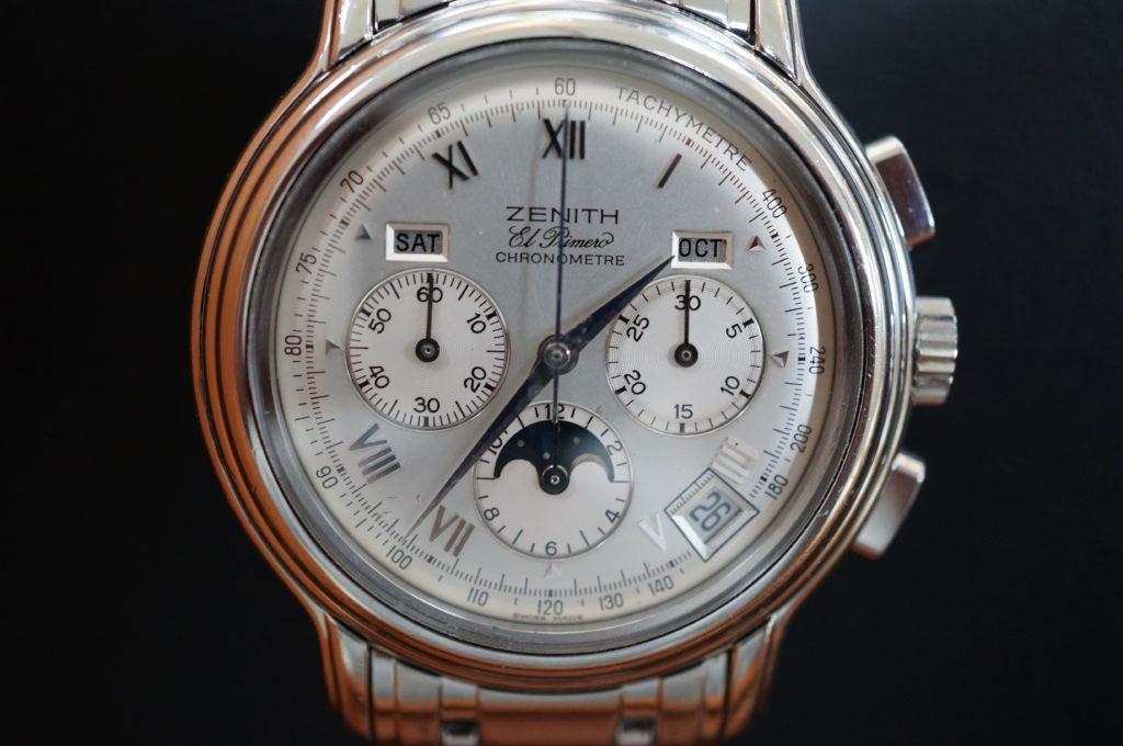 No.1849  ZENITH(ゼニス)自動巻き 腕時計を修理しました