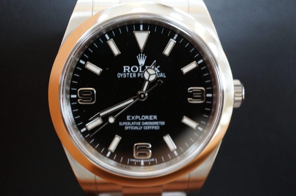 No.1850  ROLEX  (ロレックス ) 自動巻き腕時計を修理しました