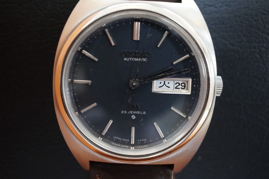 No.1860  SEIKO  (セイコー ) クォーツ式 腕時計を修理しました
