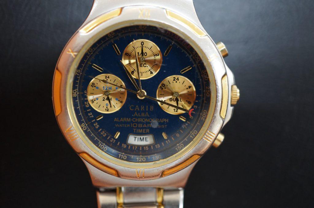No.1864  SEIKO ALBA (セイコー アルバ ) クォーツ式 腕時計を修理しました
