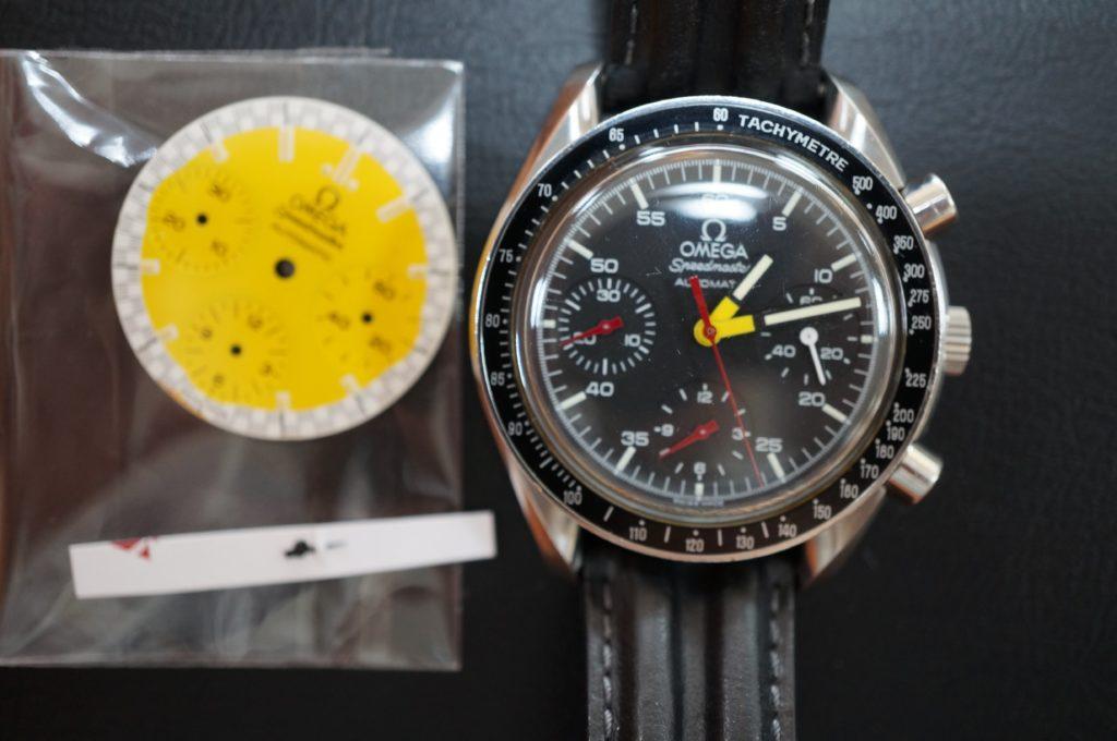 No.1883  OMEGA Speedmaster (オメガスピードマスター) 自動巻き 腕時計を修理しました