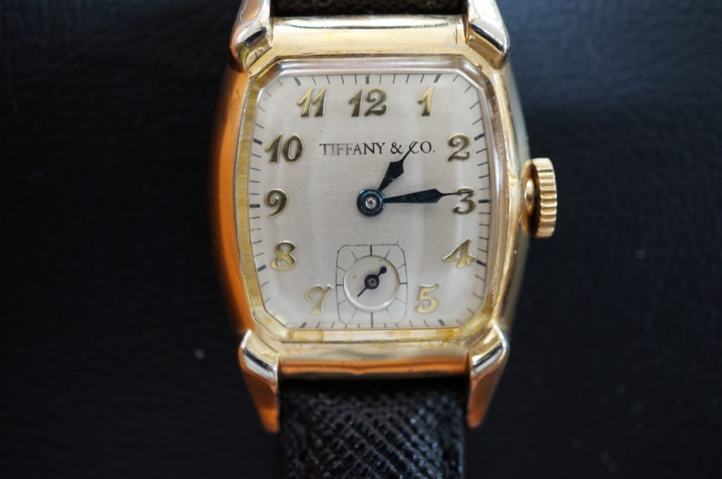 No.1870  TIFFANY & co.(ティファニー)手巻き式 腕時計を修理しました