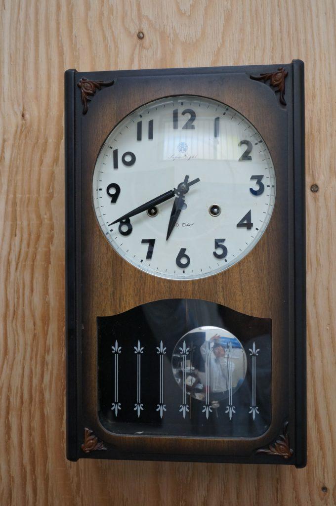 No.1881  SEIKO (セイコー)  ゼンマイ式 掛け時計を修理しました