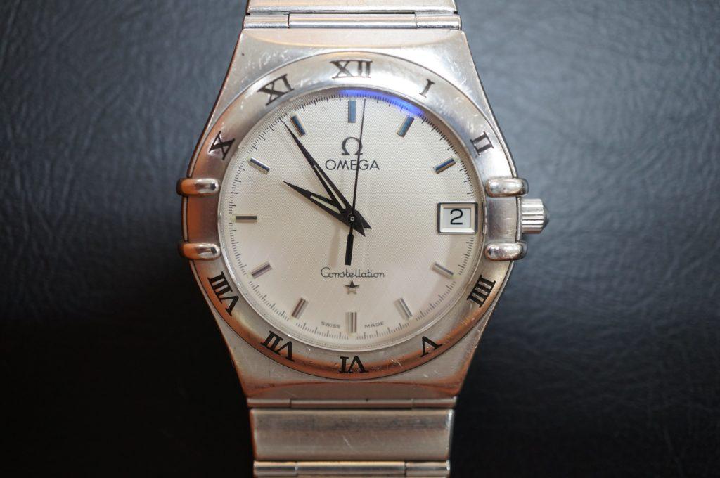 No.1867  OMEGA constellation (オメガ コンステーション) クォーツ式腕時計を修理しました