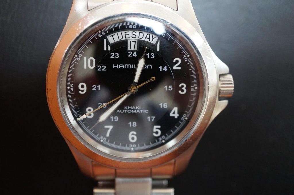 No.1920  HAMILTON  (ハミルトン ) 自動巻き腕時計を修理しました