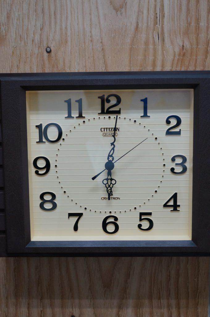 No.1902  CITIZEN  (シチズン ) クォーツ式 掛時計を修理しました