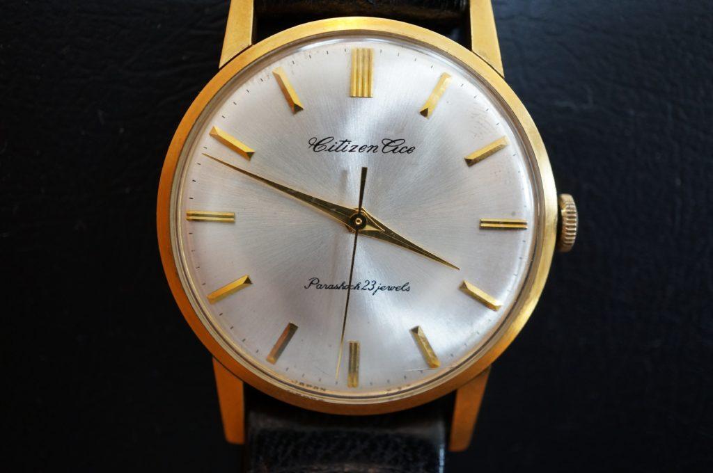 No.1889  CITIZEN  (シチズン  ) 手巻き式 腕時計を修理しました