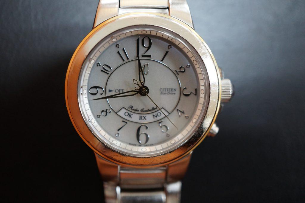 No.1886  CITIZEN XC  (シチズン クロスシー ) ソーラー 電波式 腕時計を修理しました