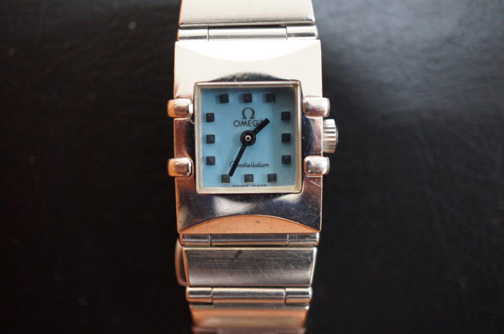 No.1924  OMEGA constellation (オメガ コンステーション) クォーツ式腕時計を修理しました