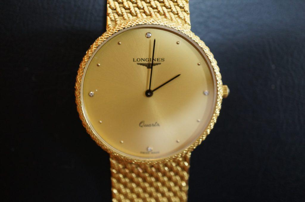 No.1928  LONGINES  (ロンジン ) クォーツ式腕時計を修理しました