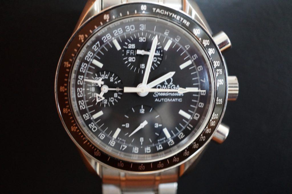 No.1929  OMEGA Speedmaster (オメガスピードマスター) 自動巻き 腕時計を修理しました