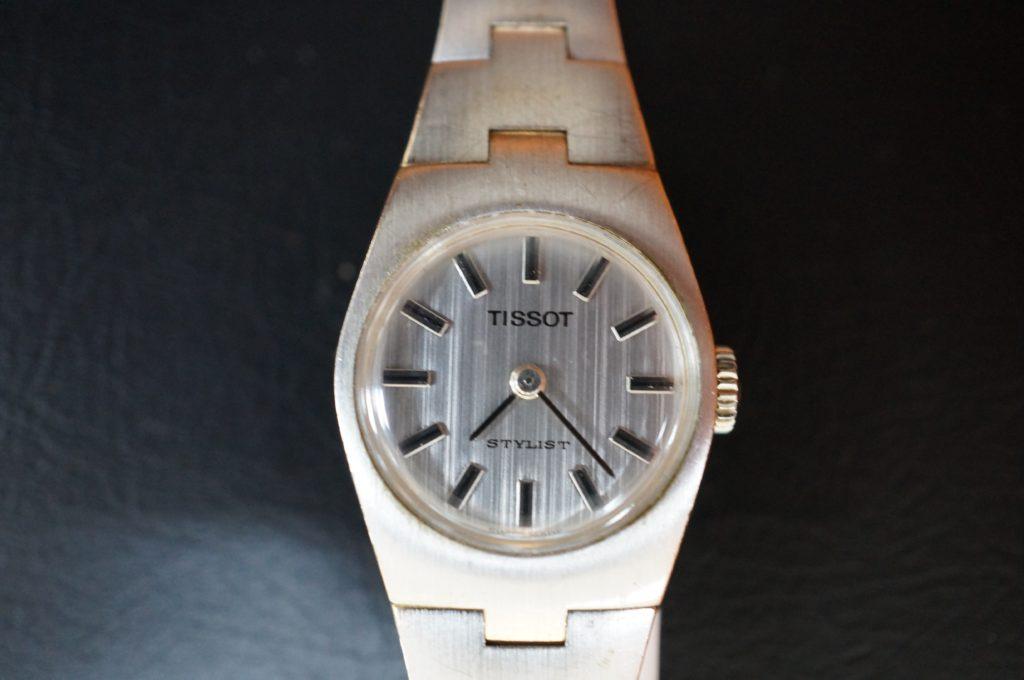No.1927  TISSOT  (ティソ ) 手巻き式 アンティーク 腕時計を修理しました