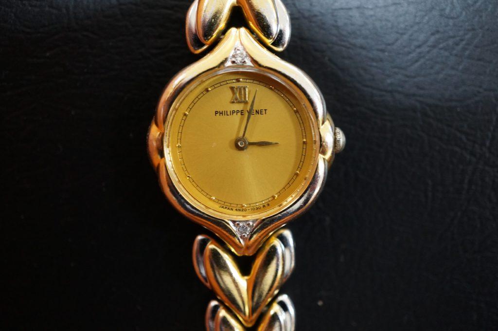 No.1925  PHLIPPE VENET  ( フィリップ・ヴネ ) クォーツ式腕時計を修理しました
