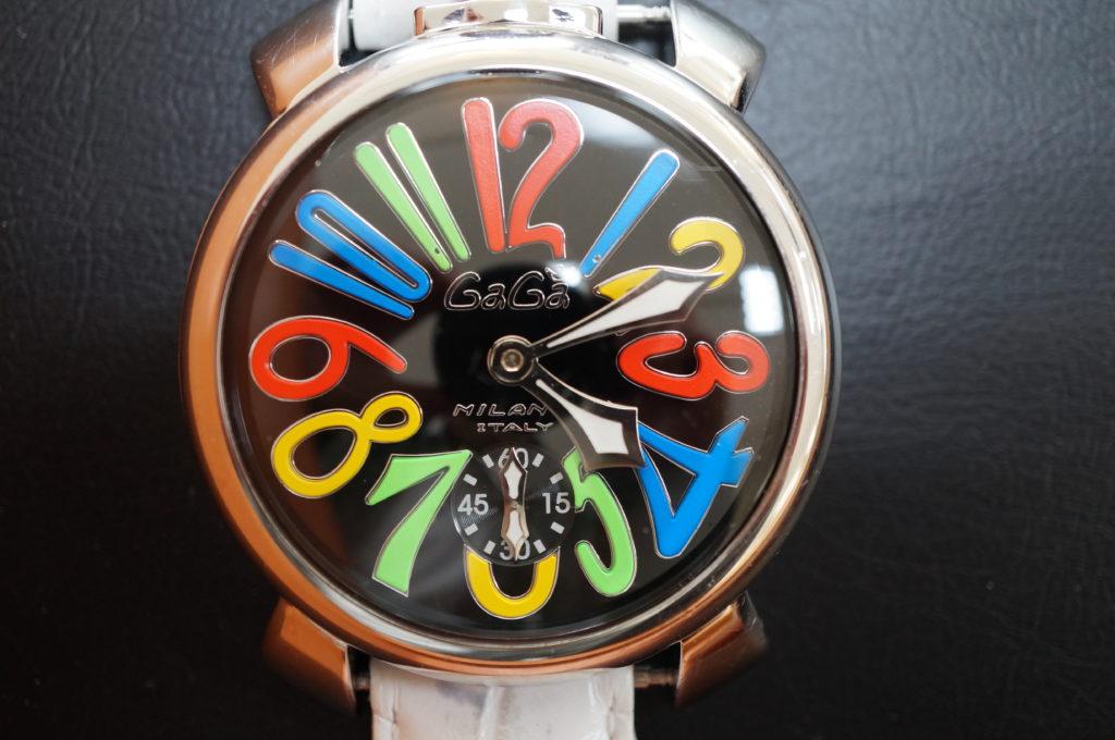 No.1960  GaGA MIRANO (ガガミラノ) 手巻き式腕時計を修理しました