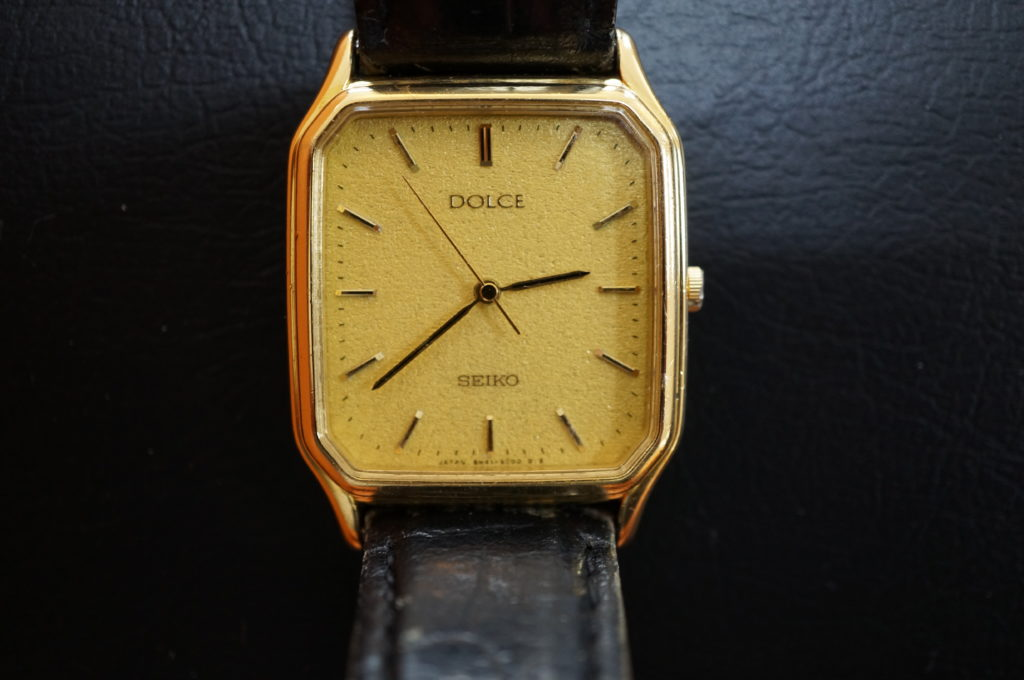 No.1956  SEIKO DOLCE (セイコー ドルチェ ) クォーツ式 腕時計を修理しました