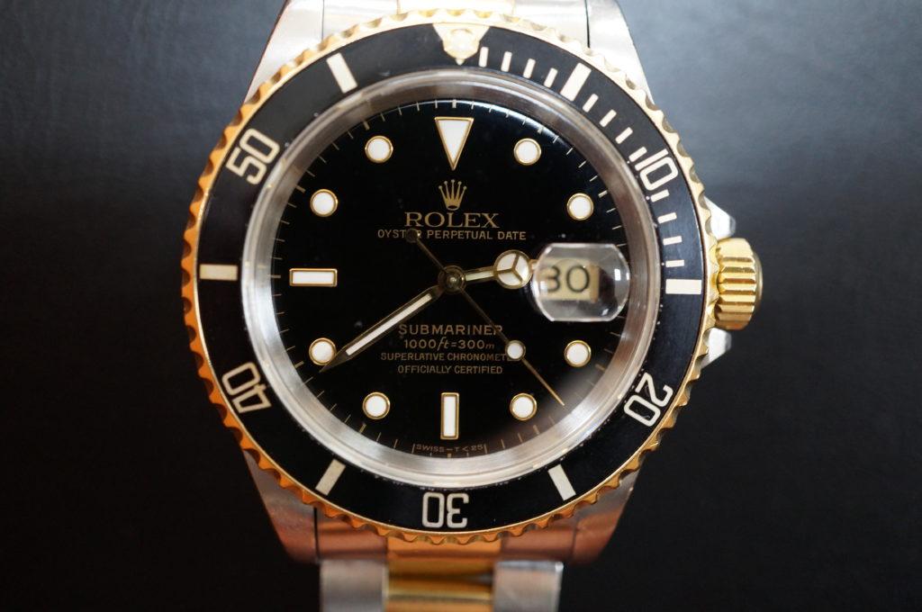 No.1958  ROLEX  (ロレックス ) 自動巻き腕時計を修理しました