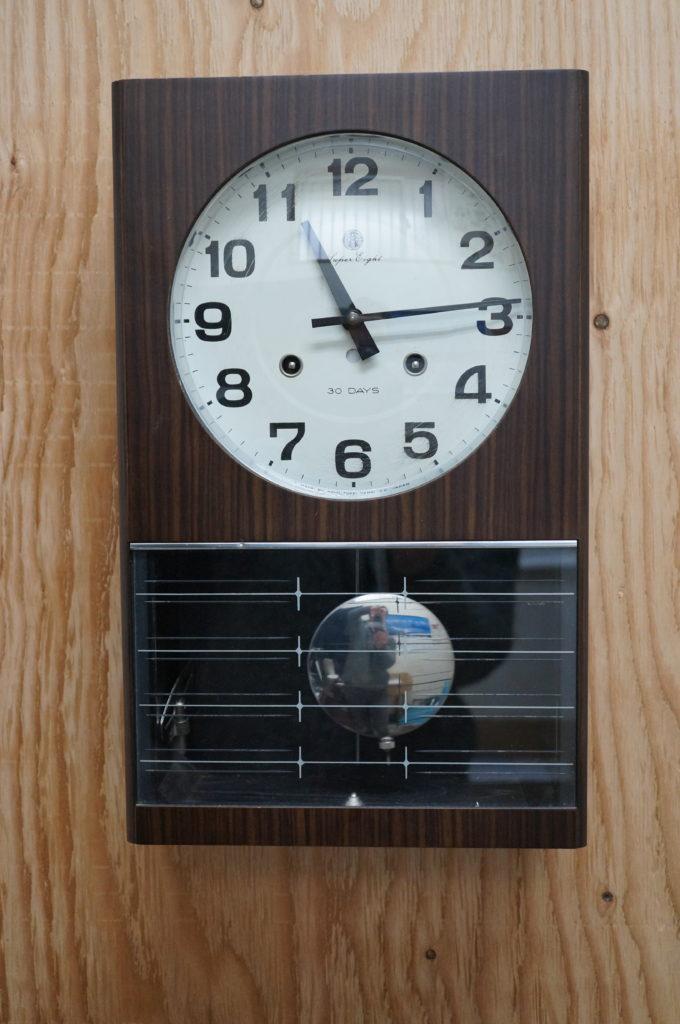No.1971  SEIKO (セイコー)  ゼンマイ式 掛け時計を修理しました