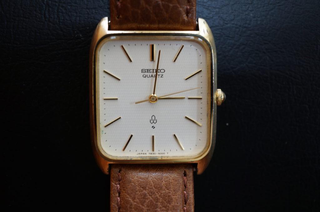 No.1945  SEIKO  (セイコー ) クォーツ式 腕時計を修理しました