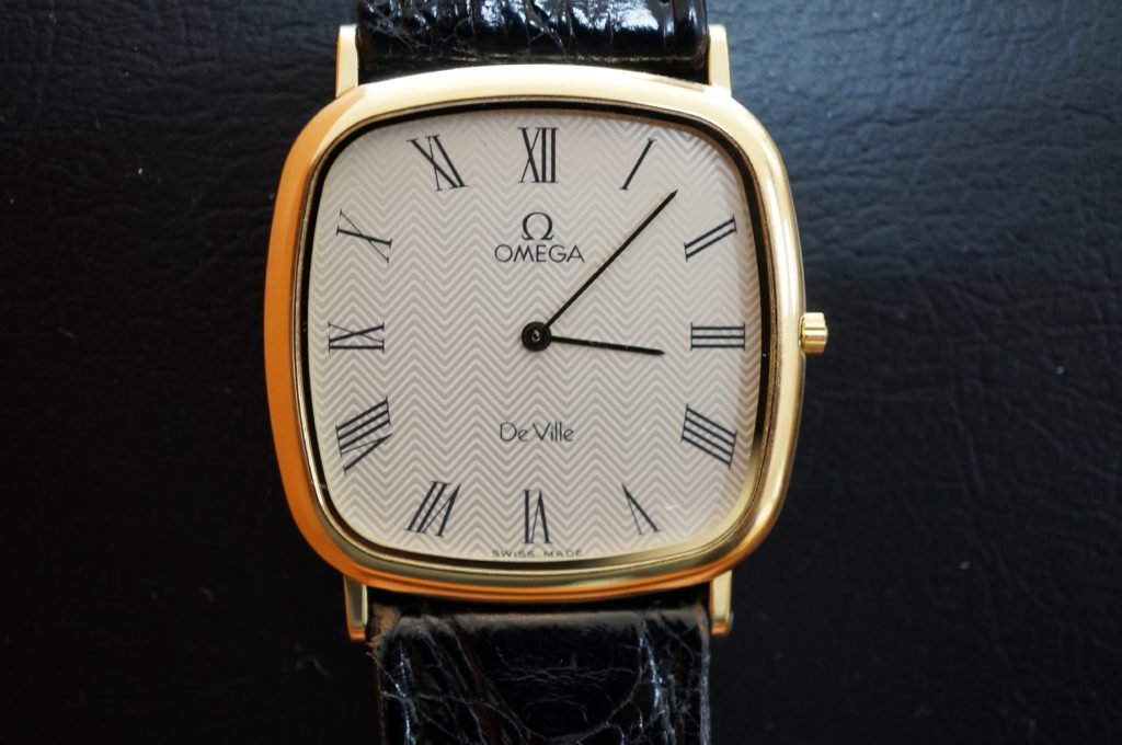 No.1948  OMEGA Deville (オメガ デビル) クォーツ式 腕時計を修理しました
