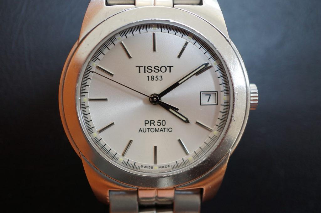No.1947  TISSOT  (ティソ ) 自動巻式 腕時計を修理しました