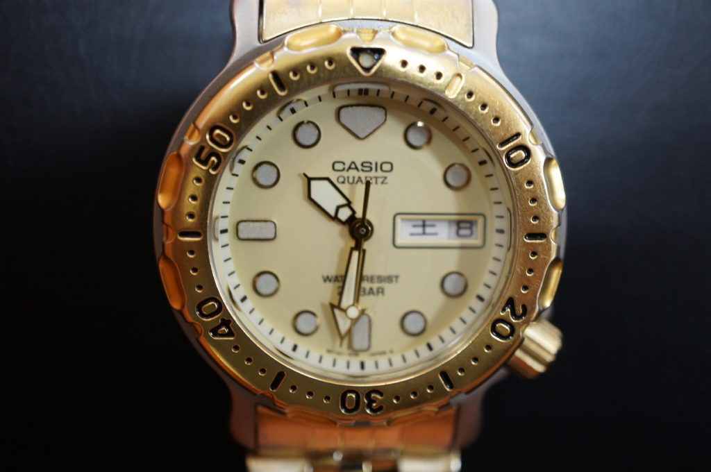 No.1955  CASIO  (カシオ ) クォーツ式 腕時計を修理しました