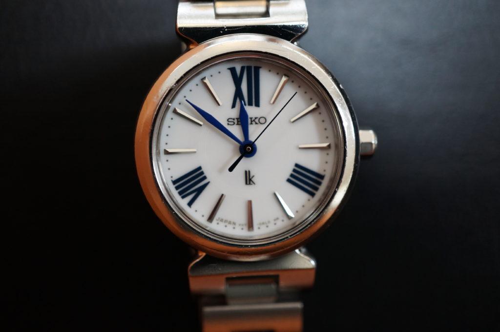 No.1972  SEIKO LUKIA (セイコールキア ) ソーラー式 腕時計を修理しました
