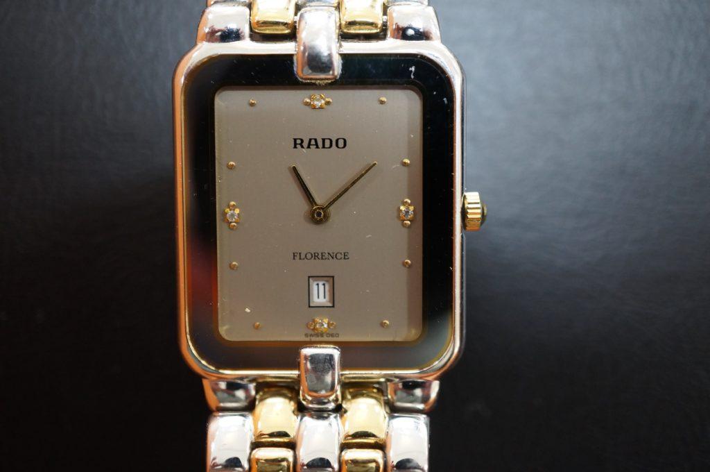 No.1977  RADO  (ラドー ) クォーツ式 腕時計を修理しました