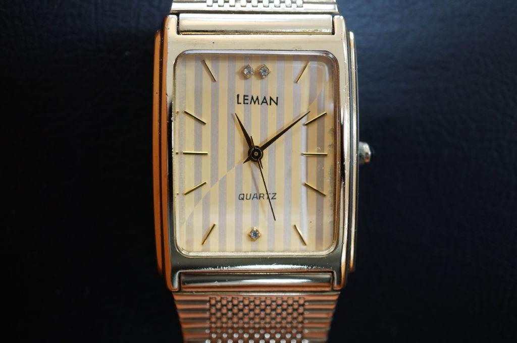 No.1975  LEMAN  (ルマン ) クォーツ式 腕時計を修理しました