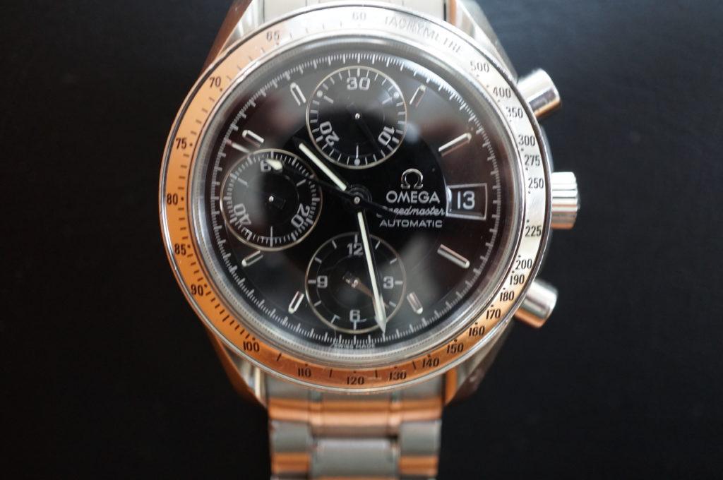 No.2007  OMEGA Speedmaster (オメガスピードマスター) 自動巻き 腕時計を修理しました