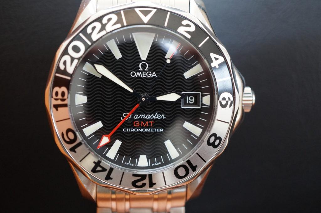 No.2006  OMEGA Seamaster GMT ( シーマスターGMT) 自動巻き腕時計を修理しました
