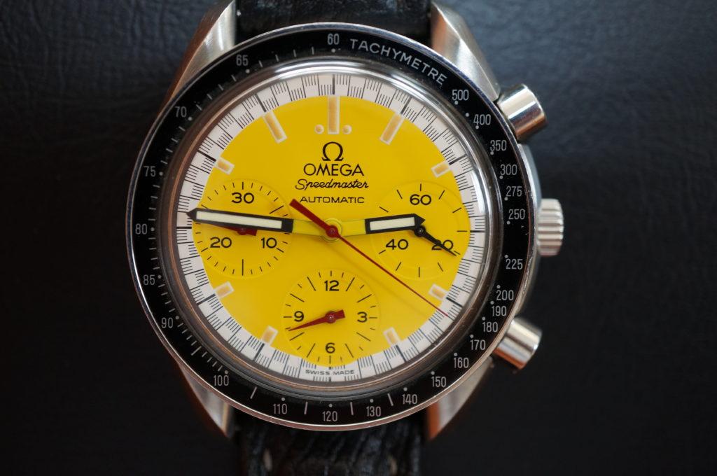 No.1979  OMEGA Speedmaster (オメガスピードマスター) 自動巻き 腕時計を修理しました