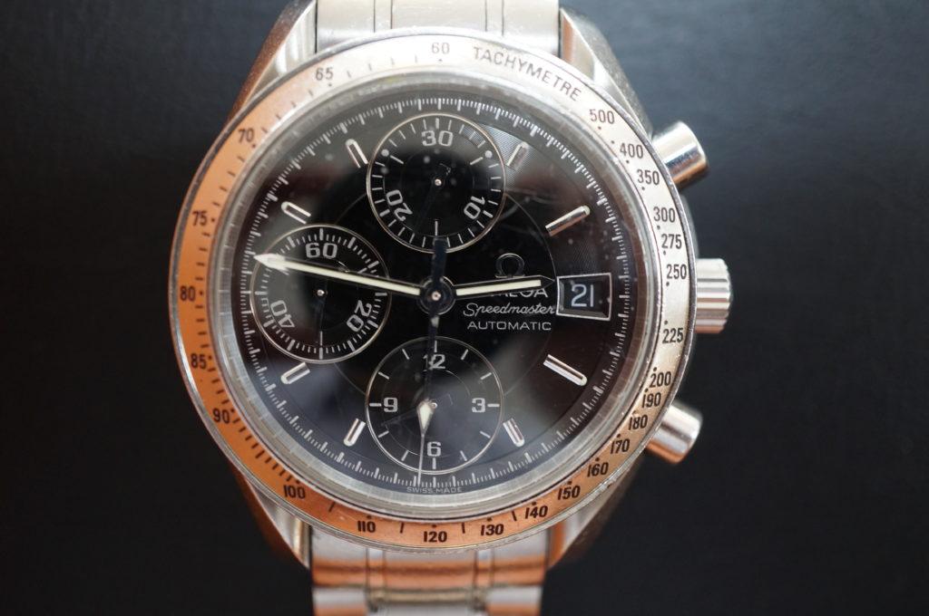 No.1980  OMEGA Speedmaster (オメガスピードマスター) 自動巻き 腕時計を修理しました