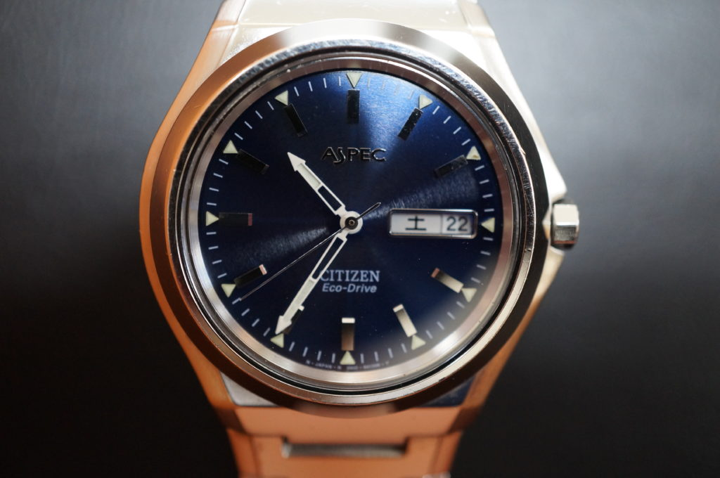 No.2001  CITIZEN  (シチズン ) ソーラー式 腕時計を修理しました