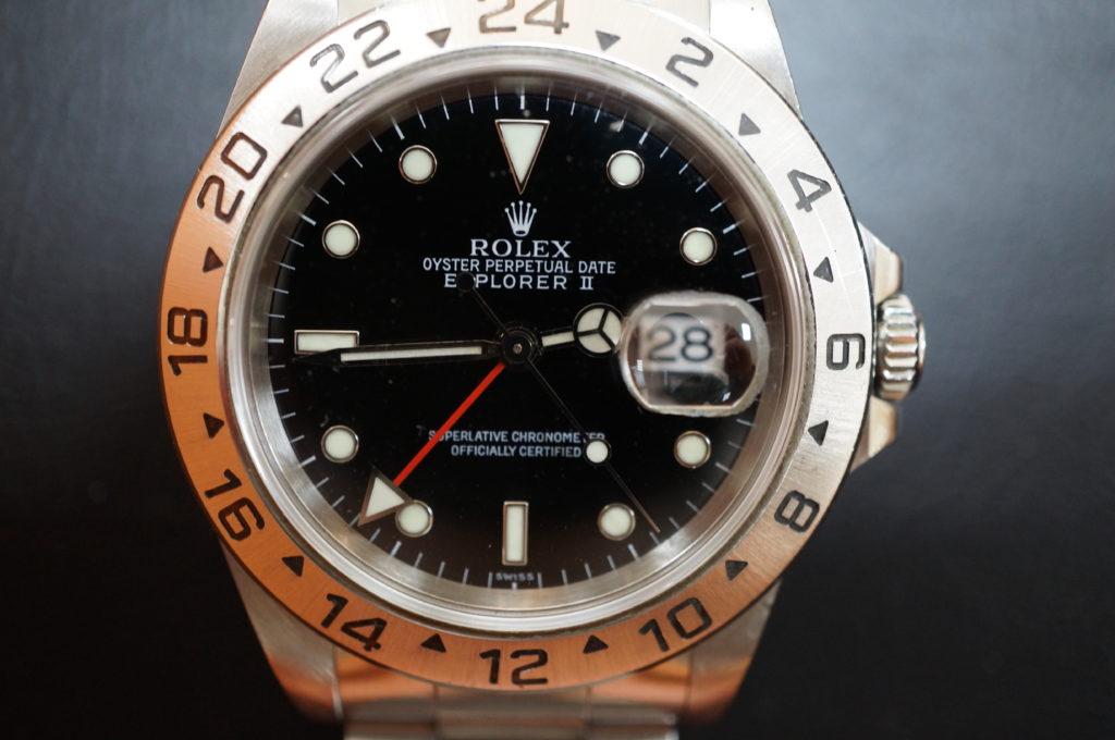 No.2004  ROLEX  (ロレックス ) 自動巻き腕時計を修理しました