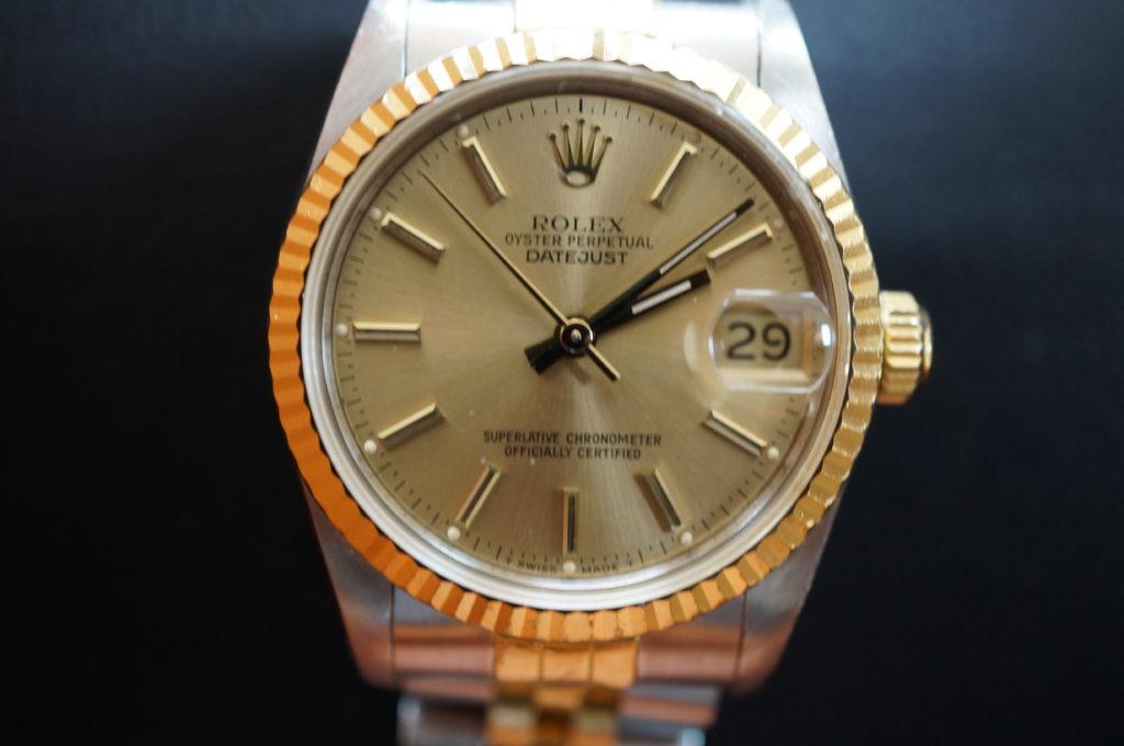 No.2009  ROLEX  (ロレックス ) 自動巻き腕時計を修理しました
