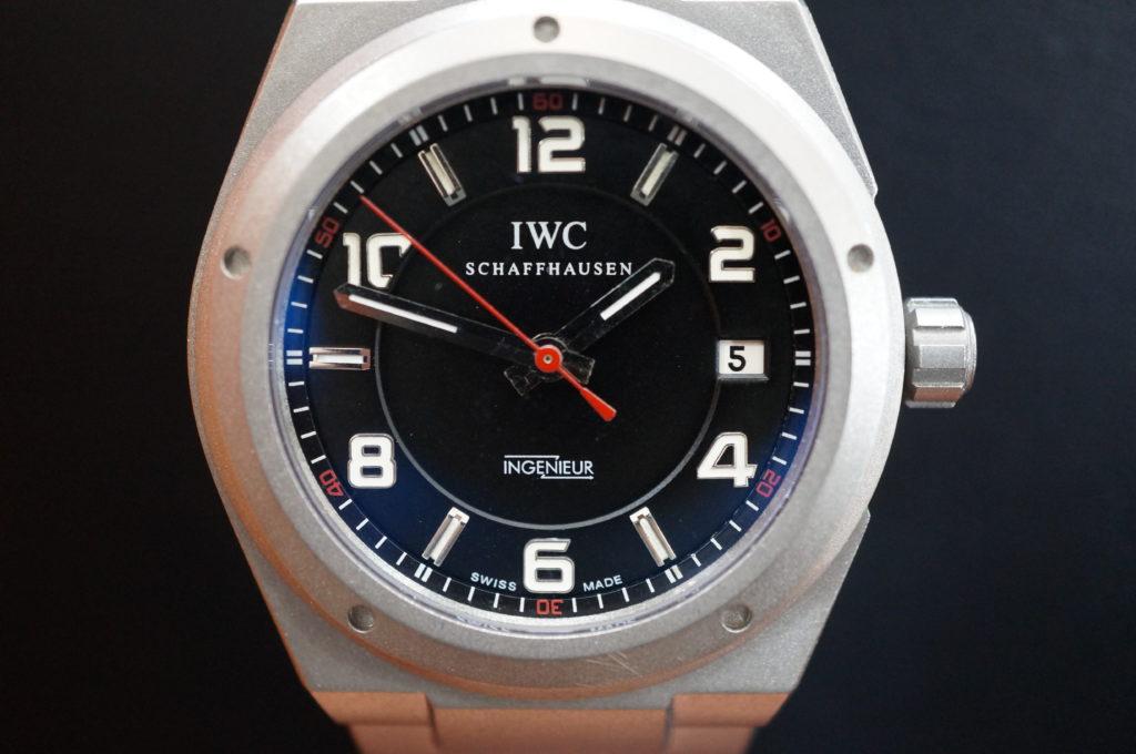 No.2010  IWC  (インターナショナル・ウォッチ・カンパニー) 自動巻き時計を修理しました