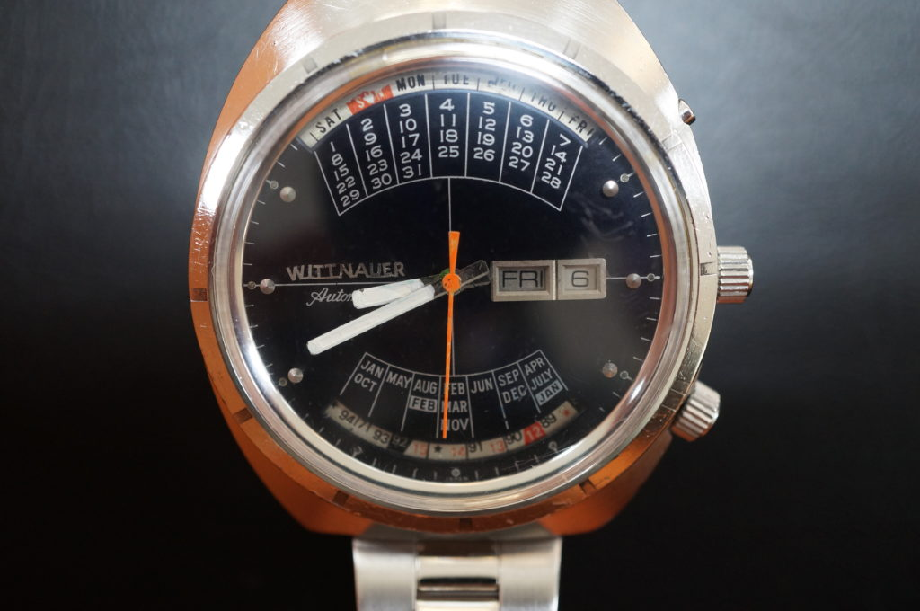 No.2022  WITTNAUER  (ウイットナー ) 自動巻 時計を修理しました