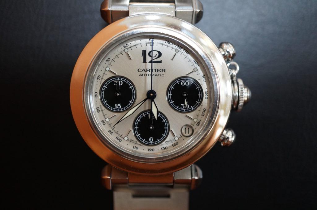 No.2048  CARTER (カルティエ ) 自動巻き腕時計を修理しました