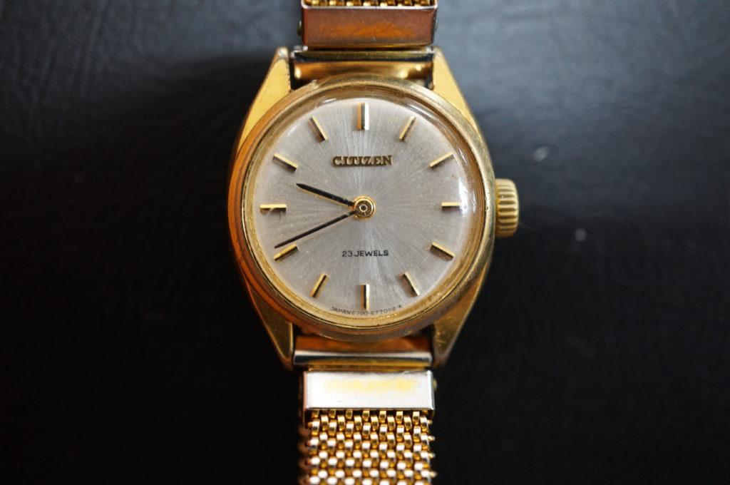 No.2045  CITIZEN  (シチズン ) 手巻式 腕時計を修理しました