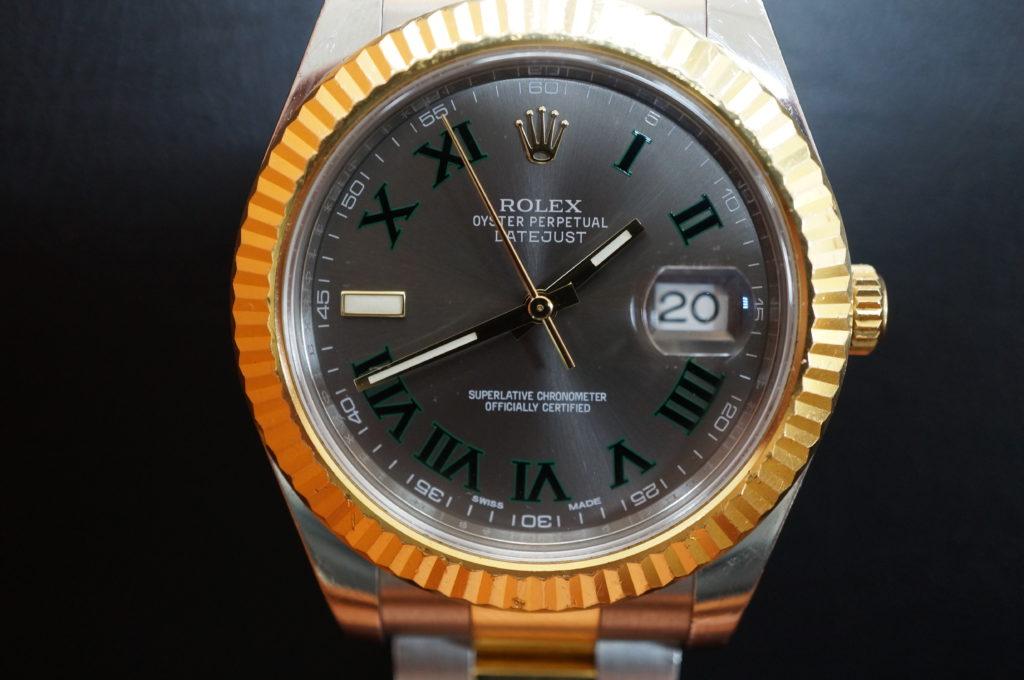 No.2030  ROLEX  (ロレックス ) 自動巻き腕時計を修理しました