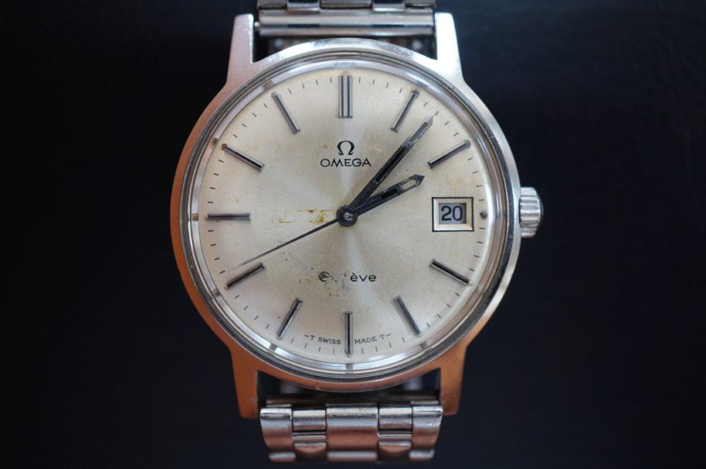 No.2027  OMEGA  (オメガ ) 手巻式 腕時計を修理しました