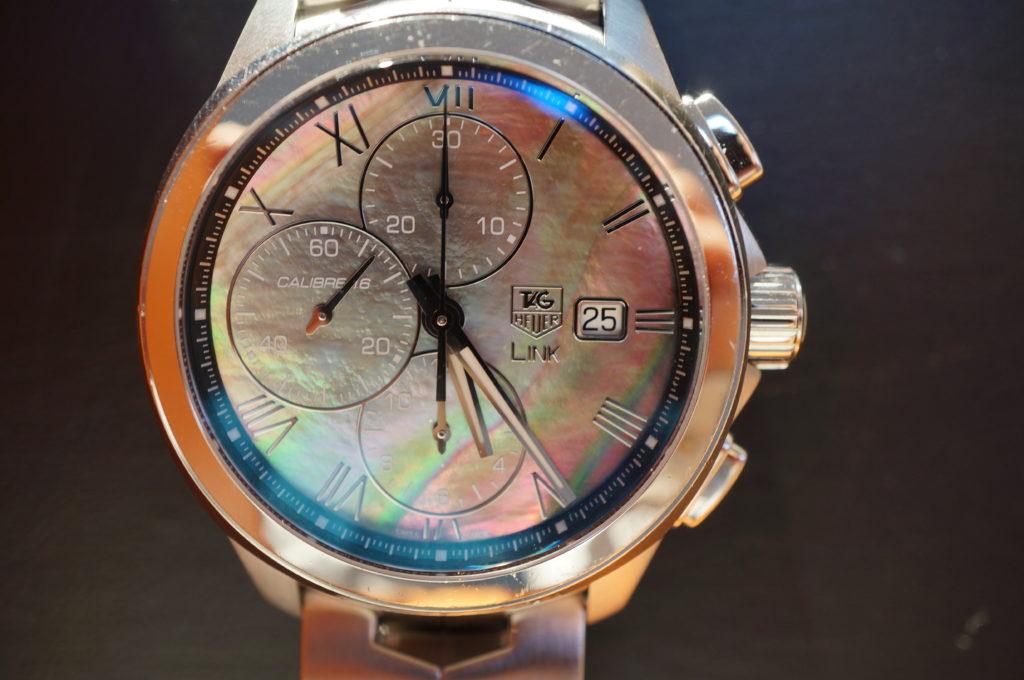 No.2029  TAG HEUER(タグホイヤー)自動巻式 腕時計を修理しました