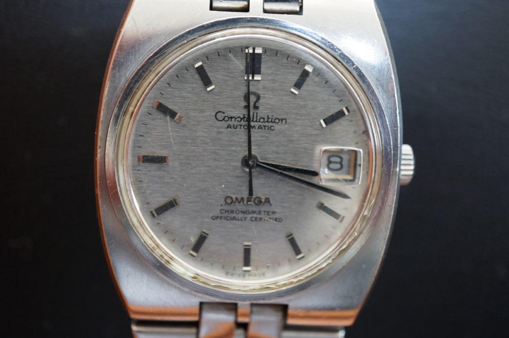 No.2065  OMEGA constellation (オメガ コンステーション) 自動巻 腕時計を修理しました