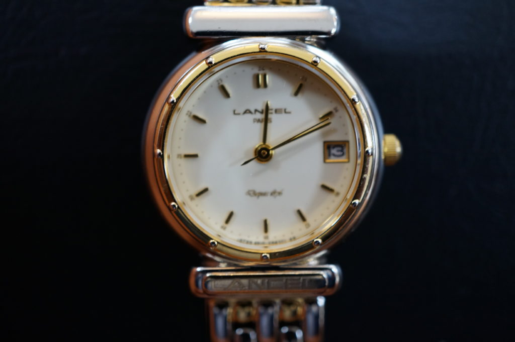 No.2060  LANCEL  (ランセル ) クォーツ式 腕時計を修理しました