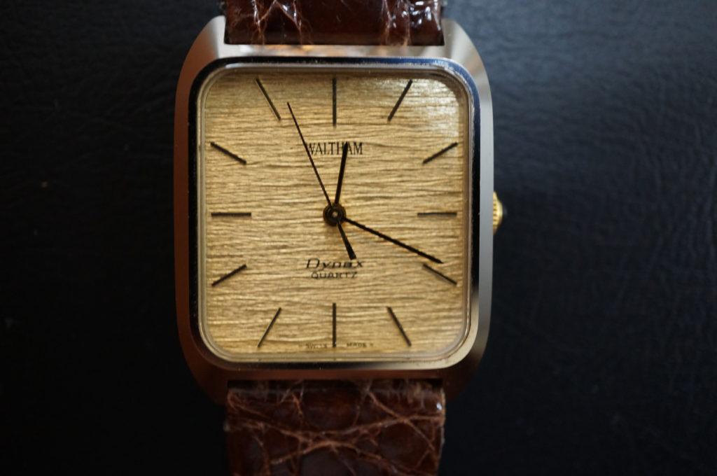 No.2063  WALTHAM  (ウォルサム ) 自動巻き 腕時計を修理しました