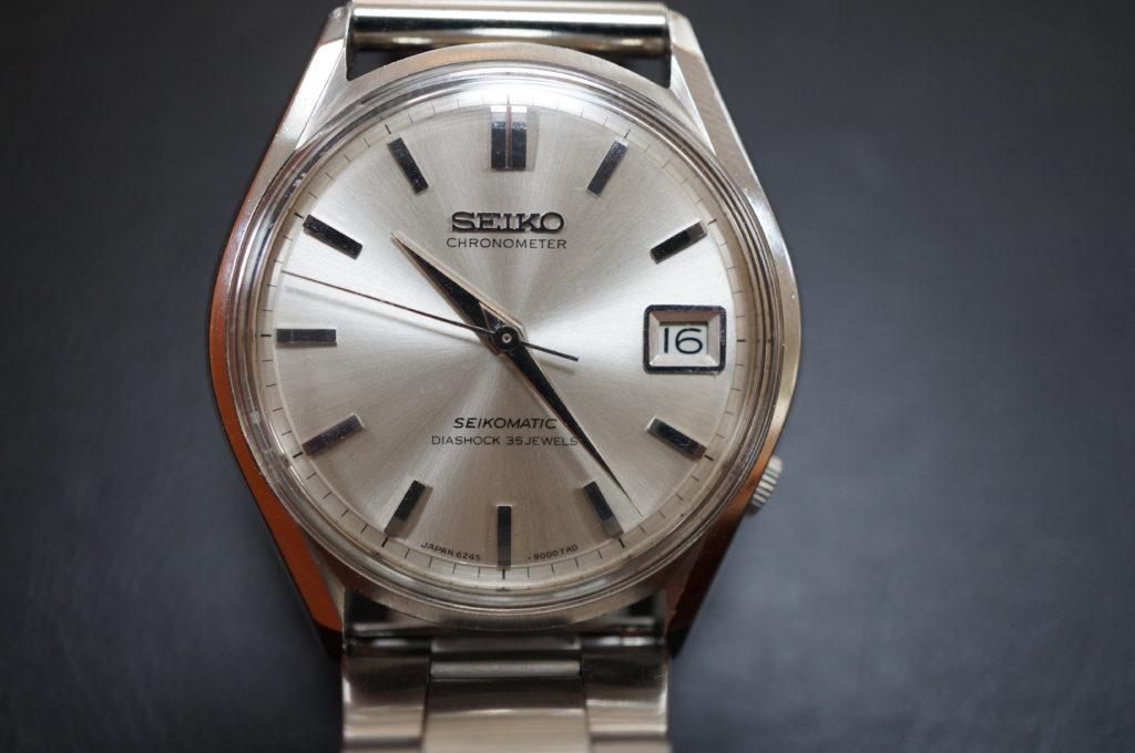 No.2050  SEIKO  (セイコー ) 自動巻き 腕時計を修理しました