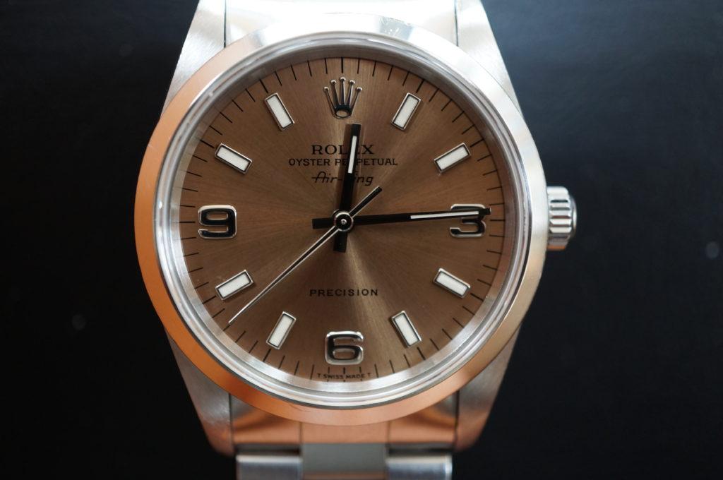 No.2100  ROLEX  (ロレックス ) 自動巻き腕時計を修理しました