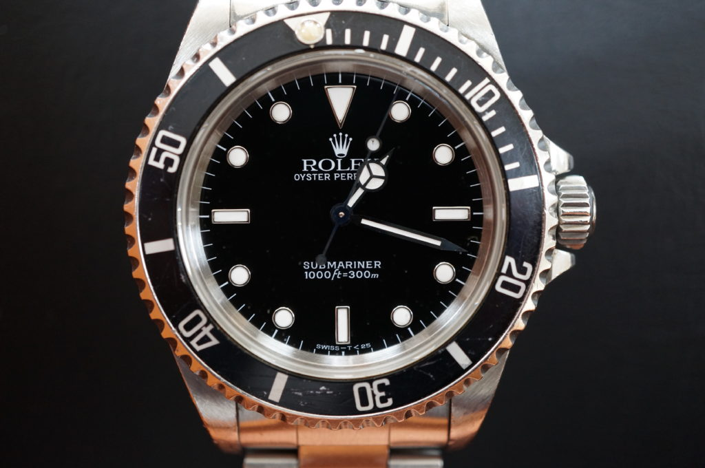 No.2081  ROLEX  (ロレックス ) 自動巻き腕時計を修理しました