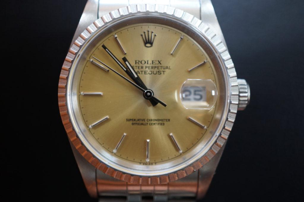 No.2084  ROLEX  (ロレックス ) 自動巻き腕時計を修理しました